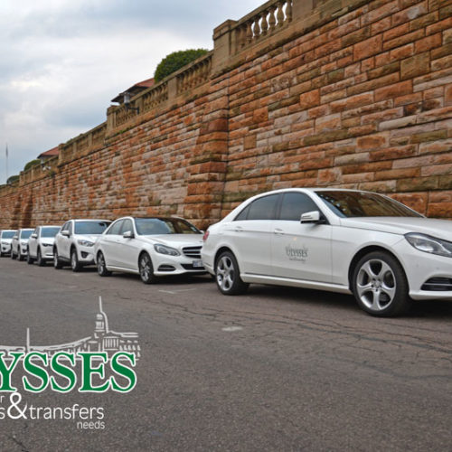 Ulysses offers a fleet of luxury vehicles