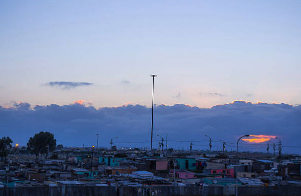 Cape Town Township Evening